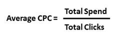 How to calculate average CPC